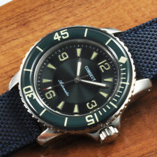 New 45MM Corgeut Green dial  Ordinary glass luminous diving automatic wristwatch