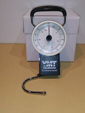 NEW! YMT VACATIONS PORTABLE LUGGAGE SCALE WITH TAPE MEASURE