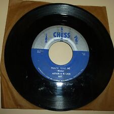R&B 45 RPM RECORD - ARTHUR & BOOKER - CHESS 1637