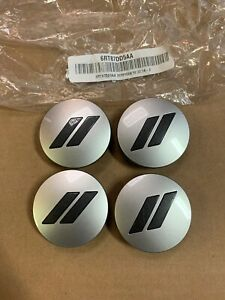 15-18 DODGE CHARGER CHALLENGER OEM SLASH CENTER CAPS SET OF 4 NEW