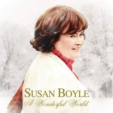 Susan Boyle  CD A Wonderful World Feat Nat King Cole and Micheal Bolton