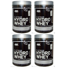 4X NEW OPTIMUM NUTRITION PLATINUM HYDROWHEY PROTEIN TURBO CHOCOLATE 1.75lbs 795g