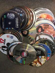200 DVDs Mixed Titles (Wholesale Joblot) Discs Only