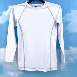 Footjoy Womens Thermal Base Layer Size Medium White Long Sleeve