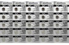 25 Pcs Energizer 395/399 Silver Oxide Watch Button Battery SR927W SR927SW