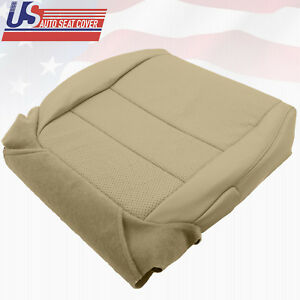For 2005-08 Acura TL Driver Bottom Replacement Seat Cover Perforated Leather TAN