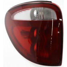 For Grand Caravan 01-03, Driver Side Tail Light Lens & Housing