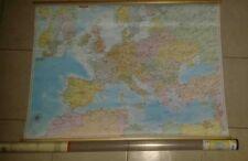 MAPPA EUROPA - CARTINA DA MURO - SCUOLA -  BELLETTI EDITORE - 91X70 - NUOVO