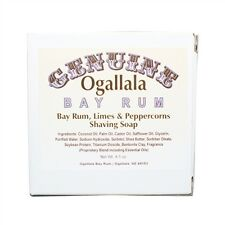 Ogallala Bay Rum Lime and Peppercorns Shaving Soap