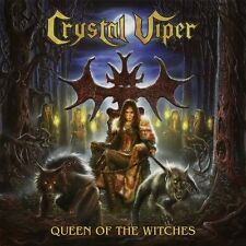 CRYSTAL VIPER - QUEEN OF THE WITCHES (GTF.180GR WHITE VINYL)   VINYL LP NEU