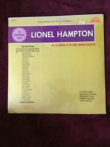 LIONEL HAMPTON VINYL lionel hampton LP SEALED Original 40'S BIG BAND Flying Home