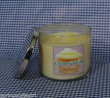 Bath & Body Works Slatkin & Co. FROSTED CUPCAKE 3-Wick 14.5 oz Scented Candle