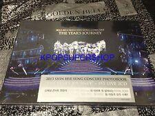 Shin Hye Sung 2012 2013 Concert The Year's Journey 1st Live CD Photobook Shinhwa