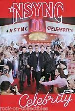 NSYNC 2001 Celebrity Original Promo Poster Sweden