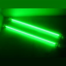 "GREEN 12""inch DUAL COLD CATHODE LIGHT KIT CCFL ULTRA BRIGHT PC COMPUTER LOGISYS"