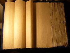100% Hemp Paper, cannabis Sativa L.. Handmade Paper sheets. 20 inch sq (52cm)