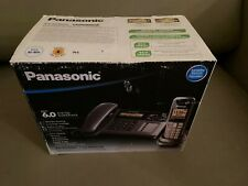 Panasonic 6.0 KX-TG1061C Digital Cordless Corded Phone with Answering Machine