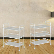 New 3 Shelf Trolley Steel Cart Wax Treatment Beauty Salon Spa Shelf Storage