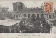 CHILE IQUIQUE TEATRO DE LA VICTORIA DESPUES DEL TERREMOTO DE 1906 KIRSINGER