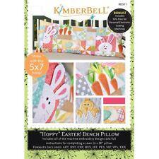 """Kimberbell Designs """"Hoppy"""" Easter! Bench Pillow ME KD571"""