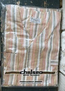 VTG Chelsea Men's Striped Pajamas Medium