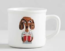 Pottery Barn - Denise Fiedler Whimsical Dog Mug