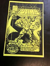 Ultraverse Prime Ashcan Super Rare Capital City Edition True 1st 1993 Malibu