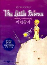 A Little Prince Korean & English Book Le Petit Prince Freeship w/ Audio MP3 CD