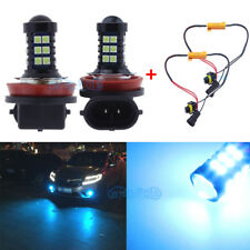 Ice Blue H11 H8 LED Fog Light Bulbs DRL Canbus For Mercedes W211 W212 W164 W221