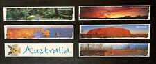 6 x Australian Bookmarks, Made in Australia