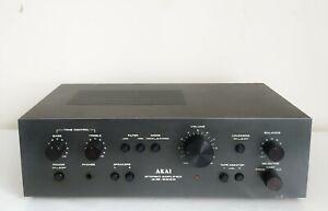 AKAI AM-2200 STEREO INTEGRATED AMPLIFIER VINTAGE BLACK RARE