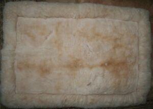 Alpaca Rug – Medium, Honey -REDUCED PRICE