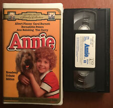 Annie (VHS, 1997) Broadway Tribute Edition ~ Family Collection ~ Clam Shell ~ VG
