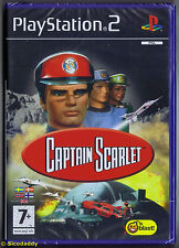 PS2 Captain Scarlet (2007), UK PAL NEU & Sony Factory Sealed