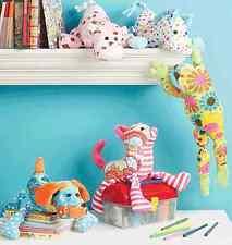 McCalls Crafts Sewing Pattern 6485 Stuffed Animals | Bears, Pig, Horse, Dog, Cat