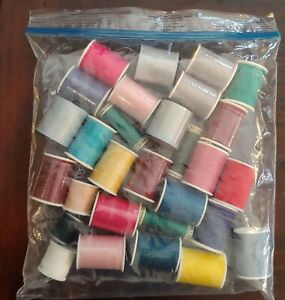 LOT of 30 Thread Spools All-purpose (some new)