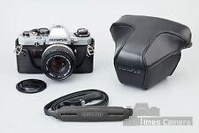 Olympus OM 10 OM-10 35mm SLR Film Camera w/ Zuiko Auto-S 50mm f/1.8 Lens, Case