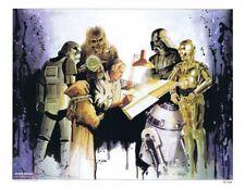 Ralph McQuarrie Star Wars Tribute Print Star Wars Celebration VI by Brian Rood