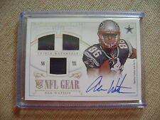 Asa Watson 2014 National Treasures Triple Gear Auto Jersey Rc 06/10 Cowboys Nice