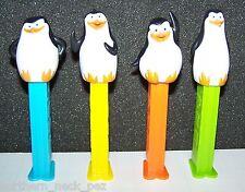 Pez Dispenser~~European Penguins of Madagascar~~Set of 4~~Loose~~Near Mint