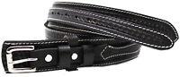 "Mens Western 1-1/2"" Wide Basket Weave Tooled Leather Ranger Belt Holster 12RAA90"