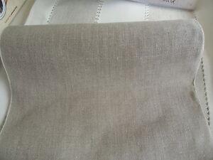 RICO Leinenband - 20 cm breit -  leinenbeige Art.17582.20.04 - für Kreuzstich