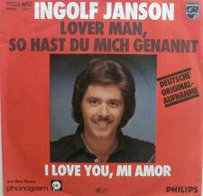 """7"""" 1977 INGOLF JANSON Lover Man so hast Du mich genannt"""