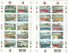 MNH MALTA STAMP SET 2011 END OF AN ERA MALTESE BUSES SG 1688-1707