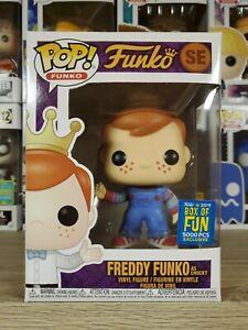 Funko POP! Freddy Funko as Chucky 2019 Box of Fun 5000 Piece LE SDCC DAMAGED*