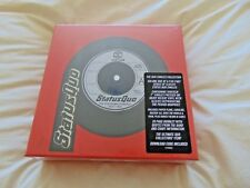"""Vinyl Box Set: Status Quo : The Vinyl Singles Collection 1972 - 1979 : 13 x 7"""""""