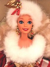 1994 New MATTEL Winter Princess Collection Peppermint Barbie Doll 12""
