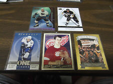 GORDIE HOWE 2009 UPPER DECK GOODWIN CHAMPIONS #140 RED WINGS