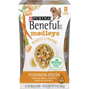 Purina Beneful Medleys Romana Style 3 - 3 oz Cans