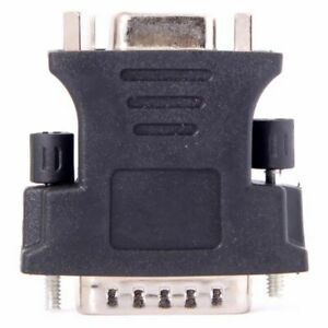 DMS-59pin Male To 15Pin Extension Adapter For PC VGA RGB Female Card R6Q2 M5L